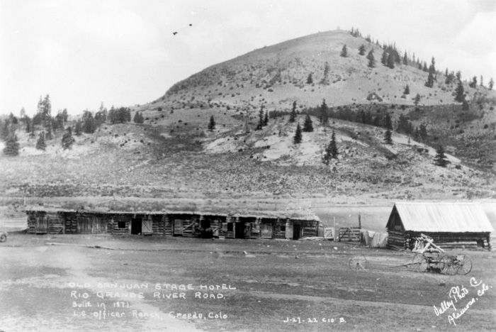 San Juan Ranch, c1922 - Creede Historical Society #2932-HR-54