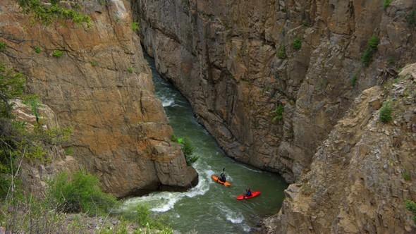 Kayaking - Courtesy Mountain Man Rafting