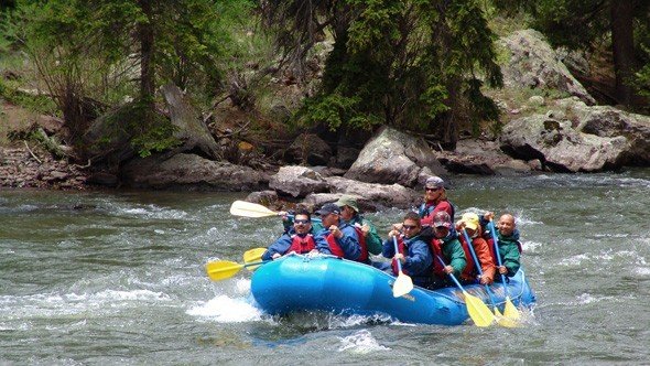 Rafting the Rio Grande - Courtesy Mountain Man Rafting