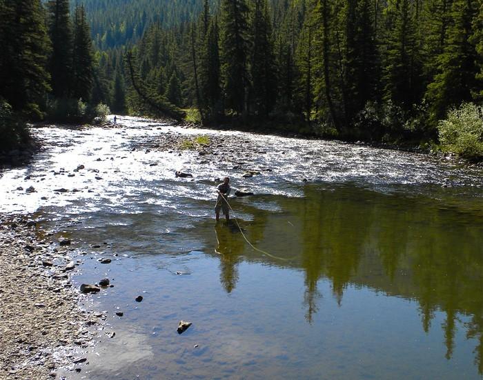 Fishing on the Rio Grande River - Kathy Killip