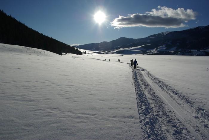Skiing the Rio Grande Valley - Robert Seago
