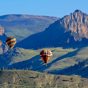 creede hot air balloon festival