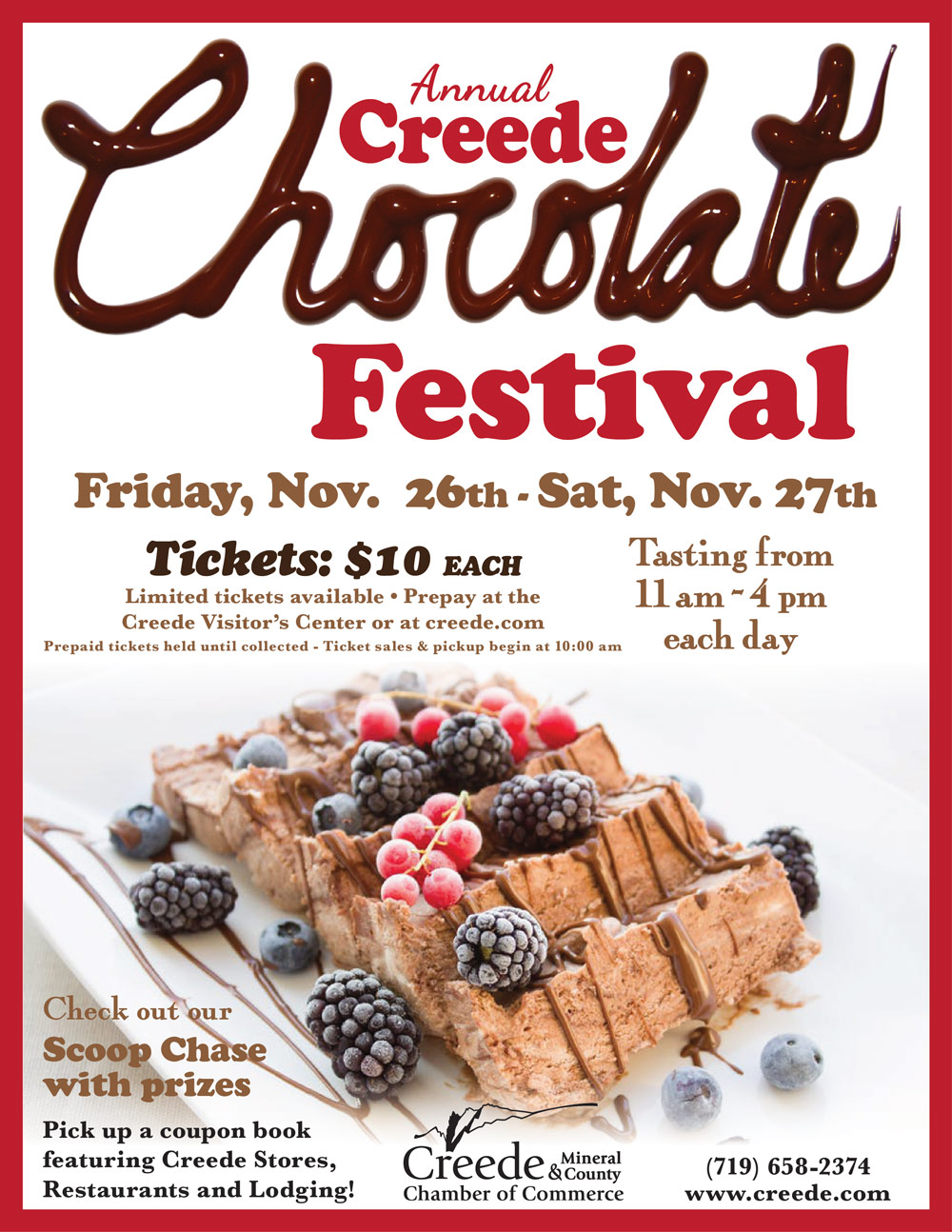 2021 Creede Colorado Chocolate Festival