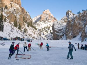 Creede Pond Hockey by B4Studio