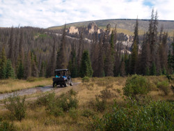 ATV/Jeep road into Wheeler Geologic Area (photo by b4Studio)