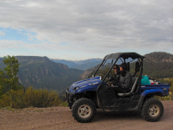 ATVing into Wheeler Geologic Area (photo by b4Studio)