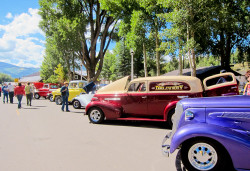 Creede CruisinCanyon Car Show DellaBrown 01