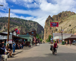 Creede Donkey Dash MainSt 2017 B4Studio