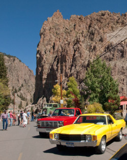 creede cliffs car show