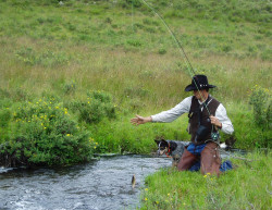 Backcountry creek fishing south of Creede (photo by b4Studio)