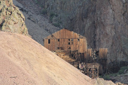 Commodore Mine along the Bachelor Loop Road (photo by Bob Seago)