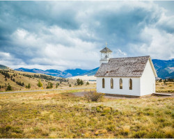 The Church overlooking Creede (photo by Brandon Jennings)