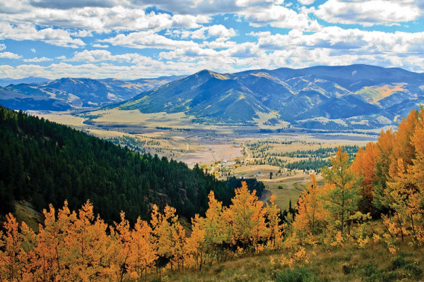 Overlooking Creede from the Bachelor Loop Road (photo by Ed Knight)