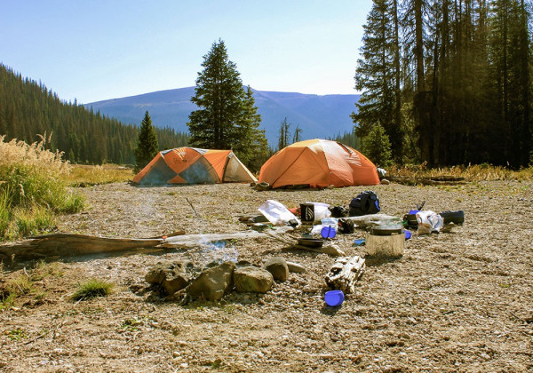 High Country Camping (photo courtesy San Juan Sports)