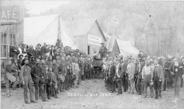 Death of Bob Ford, 1892 - Creede Historical Society #1948-CE-1c5