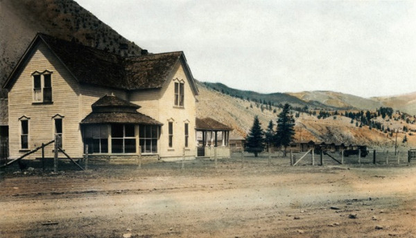 Wason Ranch House, c1920 - Creede Historical Society #2220-HR-27