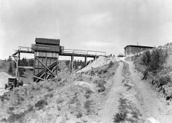Clay Mine, c1930 - Creede Historical Society #3016-MCL-17