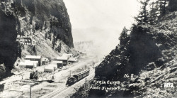 View in Canyon Above Jimtown, 1982 - Creede Historical Society #616-RR-2
