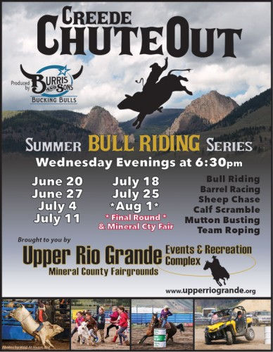Creede ChuteOut Rodeo