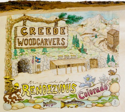 Creede Woodcarvers Rendezvous Colorado
