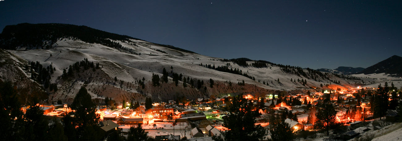 Michael Frascella Winter Night Creede